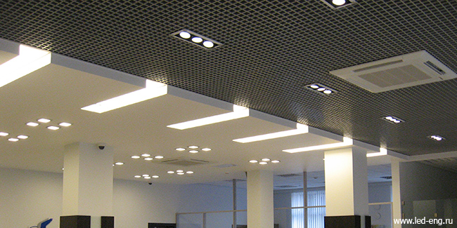 Светильники LED Engineering в СМП Банк