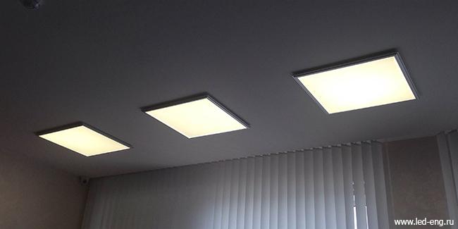 Светодиодные светильники LED Engineering в Институте Физики